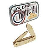 (Canoe Wooden Knife Kit USA Tin Box-Science Kits )
