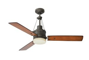 Emerson Ceiling Fans CF205VS Highpointe Modern Ceiling Fan With Light And Remote, 54-Inch Blades, Vintage Steel Finish,51 to 55 Inches