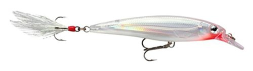 Rapala X-Rap Jerkbait 08 Fishing lure (Glass Ghost, Size- (0.25 Ounce 4/0 Hooks)