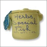 Herbs for Fish in a Crock