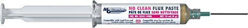 MG Chemicals 8341-10ML No Clean Flux Paste, 10 ml Syringe