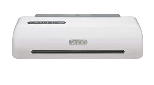 Scotch PRO Thermal Laminator with 12-Piece Starter Kit, 12.3-Inch, 1-Minute Warm-up, 4-Rollers, Never Jam Technology ()