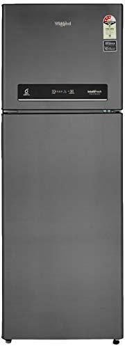 Whirlpool 360 L 3 Star ( 2019 ) Inverter Frost-Free Double-Door Refrigerator (IF INV CNV 375 ELT (3S), Steel Onyx)