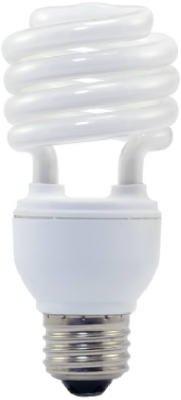 Soft White Ultra-Mini CFL Bulbs, 18-Watts, 4-Pk. ()