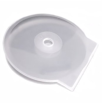 Square Deal Recordings & Supplies CDBP42CSCL Clam Shell CD/DVD Cases (Clear, 4.2mm, 200-Pack)