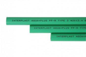 Berühmt 1 x PPR Rohr, Aqua Plus, 25mm Durchmesser, Wasserleitung: Amazon LC62