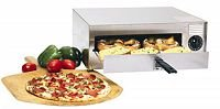 Wisco 412-8-NCT Closed Wire Pizza Oven, Silver by Wisco