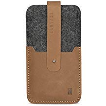 (KANVASA iPhone 8 / 7 / 6s / 6 Felt Leather Sleeve