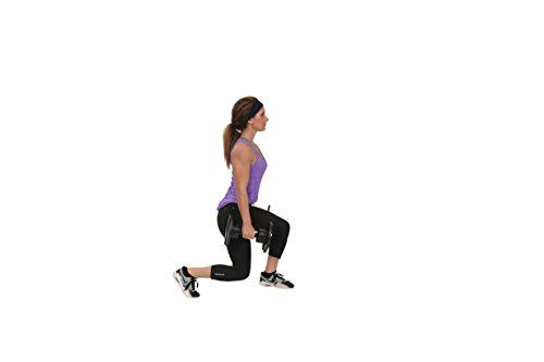 Core Fitness® Adjustable Dumbbell Weight Set by Affordable Dumbbells - Adjustable Weights - Space Saver - Weights - Dumbbells for Your Home - by Core Fitness® (Image #4)