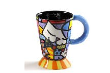 Romero Britto Cat Mug