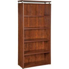 Lorell LLR68723 68600 Series Bookcase, Cherry - Lorell Cherry Bookcase