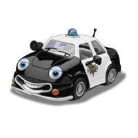 Chevron Cars Patty Patrol, Police Car 5 en serie, de colección