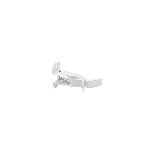 NATIONAL HARDWARE N112044 HOOK STORAGE WHT FIN Pack of 6 (Wht Fin)