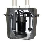 Jackel Pre-Plumbed Laundry/Sink Tray System with 1/4 HP Sump (0.25 Hp Sump Pump)