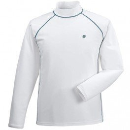 a252f795e13aa Image Unavailable. Image not available for. Colour  Coolibar Men s UV  Protective 50 Plus Long Sleeve Swim Shirt-White ...