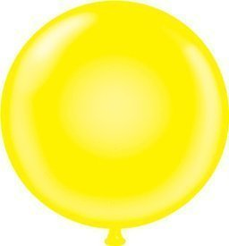 Giant 60 Inch giallo Water Balloon by Tuftex