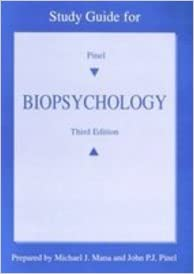 Book Study Guide for Biopsychology