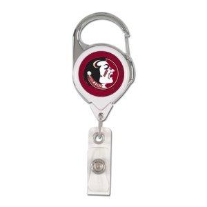 - WinCraft NCAA Florida State Seminoles Retractable Premium Badge Holder, Team Color, One Size