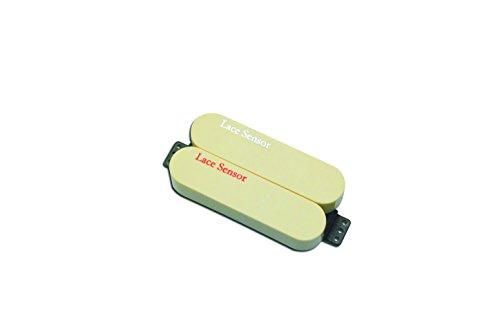 Lace 44475-03 Sensor Dually Bridge Pickup, Red/Silver and Cream Cover