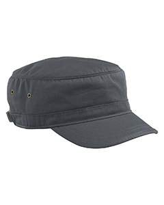 Econscious - Organic Cotton Corps Hat - 7010 - Adjustable - Charcoal
