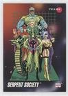 - Serpent Society (Trading Card) 1992 Impel Marvel Universe Series 3 - [Base] #183