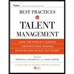 Best Practices in Talent Management (10) by Goldsmith, Marshall - Carter, Louis - Institute, The Best Prac [Hardcover (2009)]
