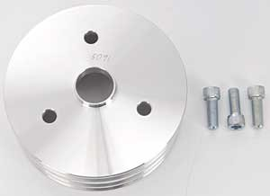 March Performance  5091 Crank Pulley for Small Block Chevy by MARCH (Image #2)