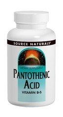 Pantothenic Acid 100 mg 100T 100 Tablets (Tabs 100 Acid Mg)