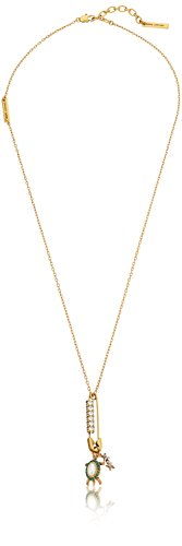 Marc Jacobs Safety Turtle Charm Pendant Necklace, 24