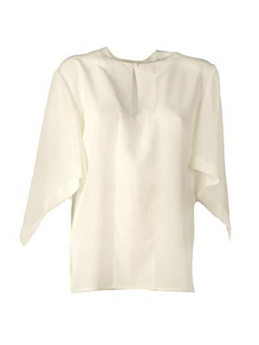 Mujer Blanco Chc19uht24004107 Top Chloé Seda RwEdCRnq