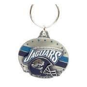 NFL Team Design Key Ring - Jacksonville Jaguars