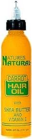 Carrot Nature (natures natural hair oil 6oz (carrot))