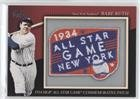 Babe Ruth (Baseball Card) 2010 Topps - Manufactured Comme...