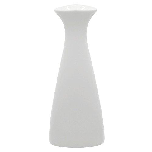 10 Strawberry Street WTR-SAKEBTL Whittier 5 oz. White Porcelain Sake Bottle - 12/Case by Strawberry