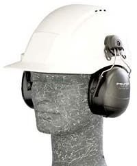 Peltor Listen Only Hardhat Clip-in Model w/Disconnect Cable HTM79P3E-49 by Peltor