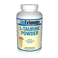 Life Extension Taurine | 300 grams powder ( Multi-Pack)