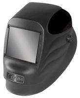 "Radnor 64005111 45P Fixed Front Welding Helmet with 4 1/2"" x 5 1/4"" Shade 10 Passive Lens, Black"