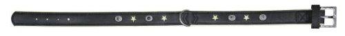Kerbl Collar Ranger Leather Imitation, 30 mm/ 53 x 59 cm, Black/Green