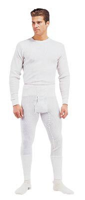 Rothco Thermal Knit Bottoms - Natural, X-Large
