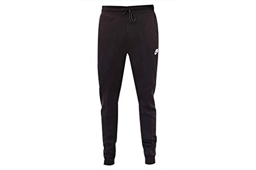 Nike Mens Sportswear Tech Fleece Jogger Sweatpants Burgundy Ash/White-White 805162-659 Small by Nike (Image #2)