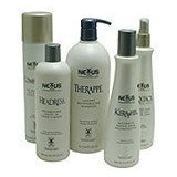 Nexxus Nexxtacy Alcohol Free Sustained Hold Styling and Finishing Spray, 33.8 Oz (1 Liter) Refill Bottle.