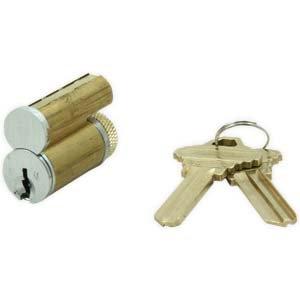 Best/Falcon/Ksp Style IC Core Lock J Cylinder, 7 Pinned SFIC Core KD