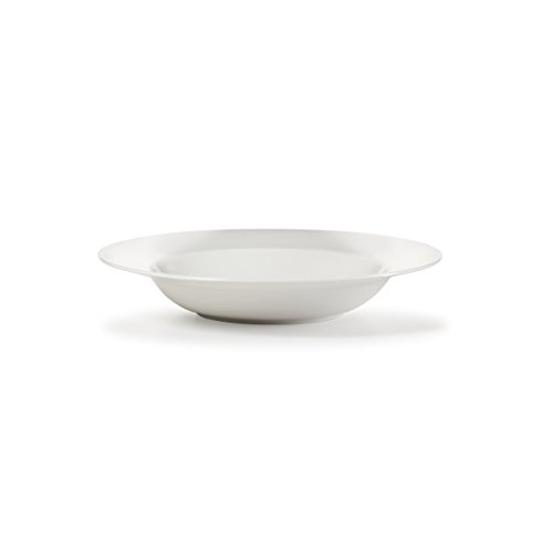 Mikasa Satin Rim Soup, White