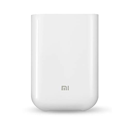 Xiaomi mijia AR Printer 300dpi Portable Photo Mini Pocket with DIY Share 500mAh Picture Printer Pocket Printer Work with mijia (AR Zink Photo Printer)