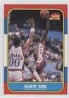 Albert King (Basketball Card) 1986-87 Fleer - [Base] #59