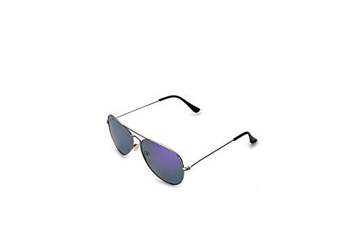 Suntime Full Mirrored Aviator Sunglasses Protect UV Rays Space - Sunglasses 2 Dj