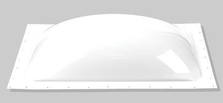 Sr Specialty Recreation 15 Inch x 18 Inch SL1518W Skylight Exterior 15X18 White by Sr Specialty Recreation
