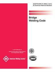 Bridge Welding Code: Aashto/Aws-D1.5M/D1.5: 2002  an American National Standard Bridge Welding Code: Aashto/Aws-D1.5M/D1.5: 2002  an American National Standard
