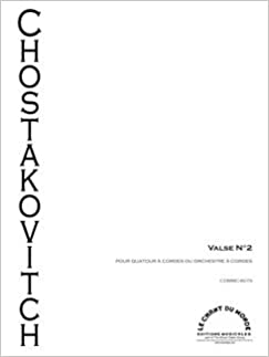 Waltz (from 'Jazz Suite No 2) arranged for String Quartet (score and