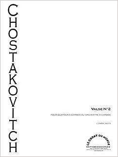 Waltz (from 'Jazz Suite No 2) arranged for String Quartet